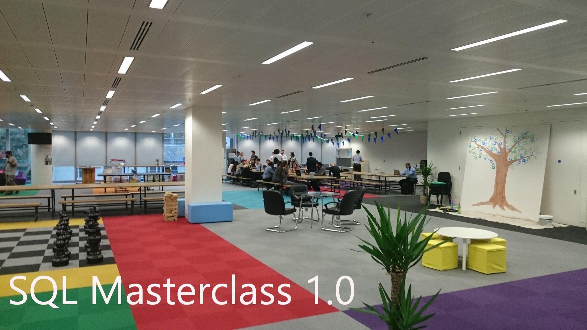SQL Masterclass - 1.0