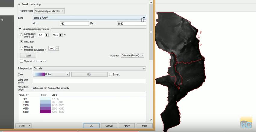 Classify rasters in QGIS